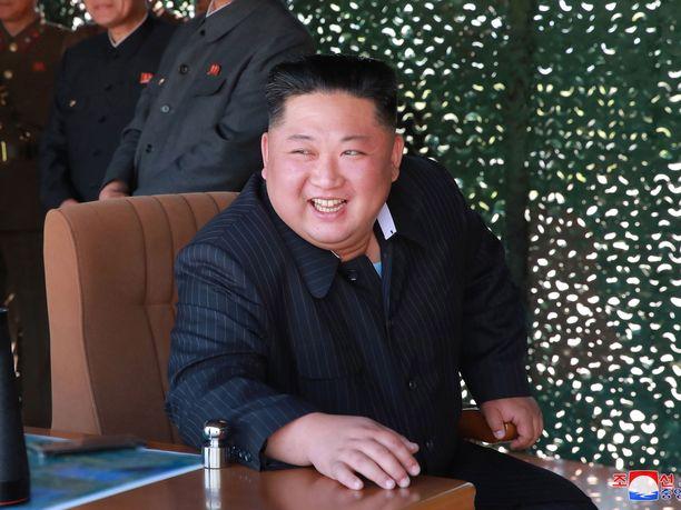 Pohjois-Korean johtaja Kim Jong-un kertoo saaneensa kirjeen Donald Trumpilta.