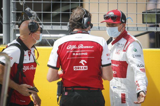 Giedo van der Garde ei näe Kimi Räikköselle käyttöä formula ykkösissä.