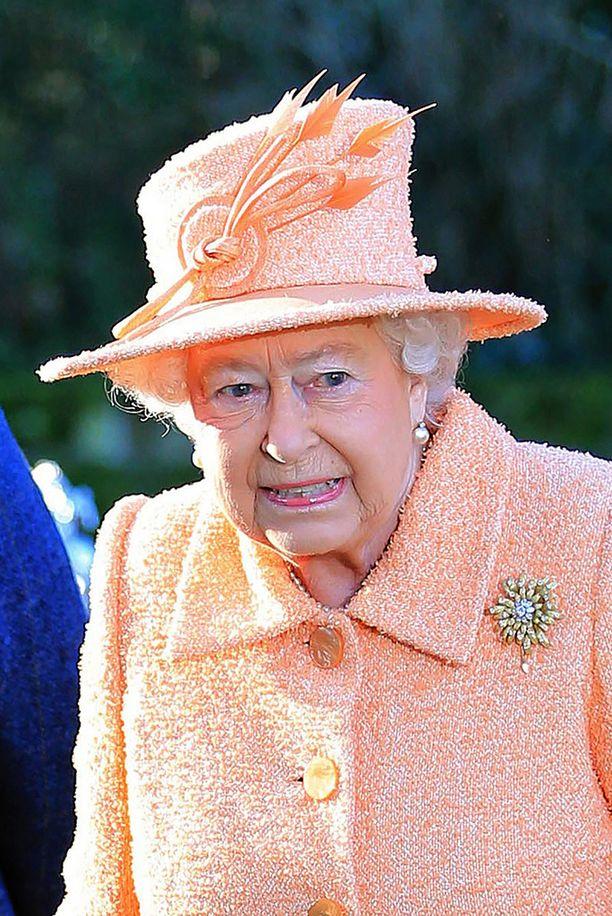 Kuningatar Elisabet pääsi listalle vasta prinssi Williamin perheen jälkeen.