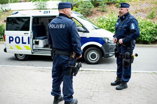 Poliisi ei epäile asiassa rikosta.  Kuvituskuva.