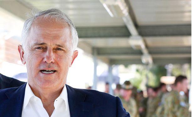 Australian pääministeri Michael Turnbull.