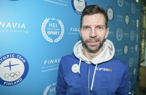 Janne Ahonen lähti kohti Etelä-Koreaa positiivisin odotuksin.