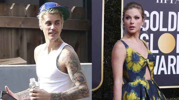 Justin Bieberin ja Taylor Swiftin treeniaikataulut joutuivat törmäyskurssille.
