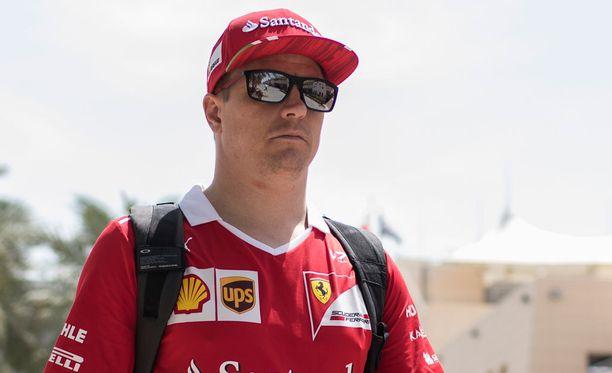 Kimi Räikkönen vietti F1-vapaata viikonloppua motocross-kisoissa.