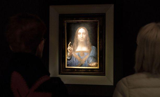 Salvator Munti eli Maailman pelastaja on renesanssimestari Leonardo da Vincin maalaus.