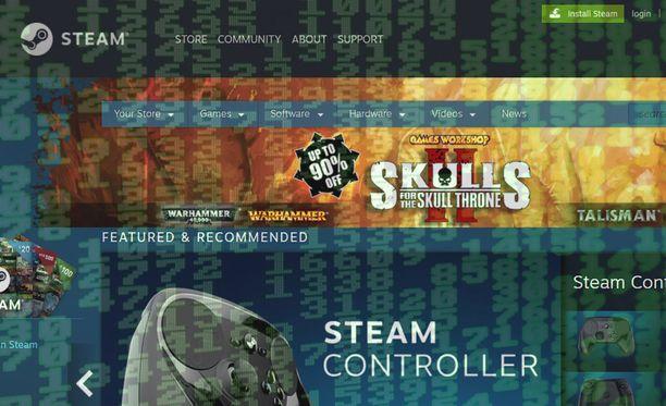 Steam korjasi bugin vasta hiljattain. Kuvituskuva.