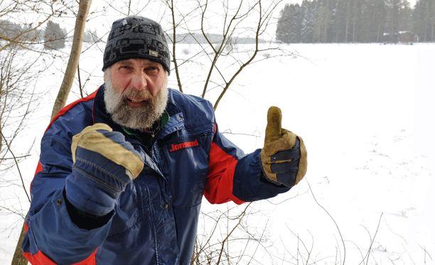 Juha Mieto syö pääsiäisen aikaan 28 kiloa mämmiä.
