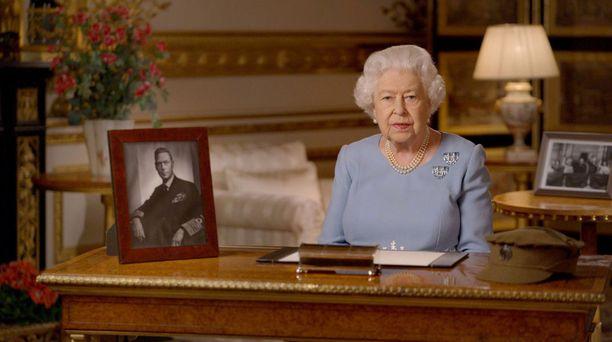 Kuningatar puhui kansalle viimeksi perjantaina.