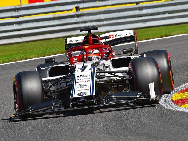 Kimi Räikkönen on saavuttanut Spassa neljä F1-osakilpailuvoittoa.