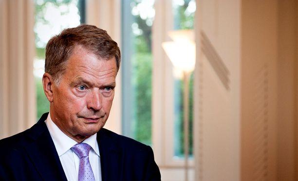 Presidentti Niinistön mukaan Suomen linja pakotepolitiikassa tyydyttää puoluejohtajia.