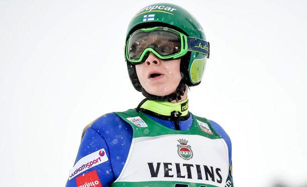 Eero Hirvonen oli tänään paras suomalainen Seefeldissä.
