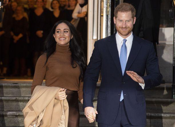 Meghan ja Harry palasivat julkisuuteen tällä viikolla joululomansa jälkeen.