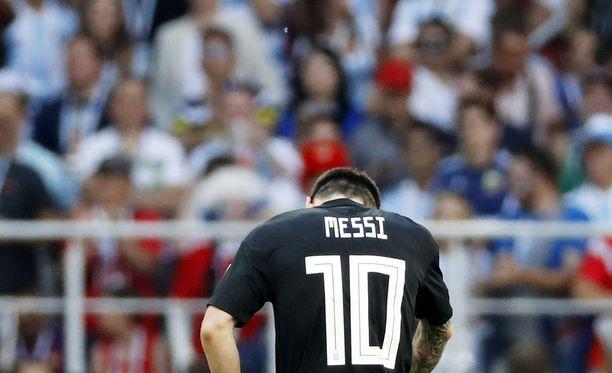Lionel Messin onnistuminen ratkaisee Argentiinan pelin Kroatiaa vastaan.