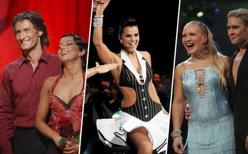Muistatko nämä Tanssii tähtien kanssa -voittajat? Katso kuvat vuosien varrelta