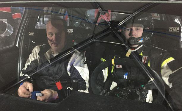 Kalle Rovanperä ajaa Italiassa uransa ensimmäistä asvalttirallia.