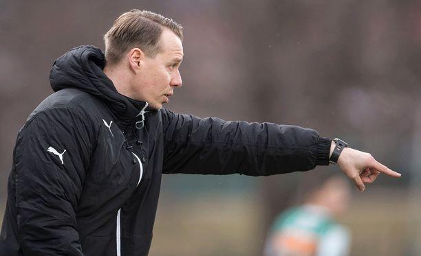 KTP:n päävalmentaja Sami Ristilä pitää joukkueensa alkukautta positiivisena. Kotkassa on pelattu vasta kerran.