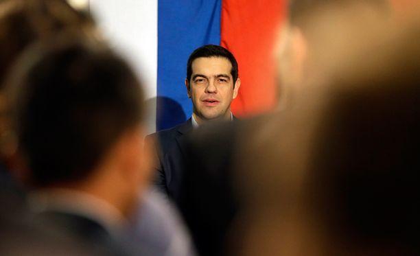 Kreikan esitys ei Saksan mukaan anna mahdollisuutta yhteiseen lausuntoon. Kuvassa Kreikan pääministeri Alexis Tsipras.