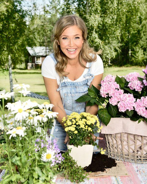 Marita Taavitsainen on vastavalmistunut sisustussuunnittelija.