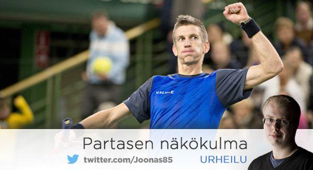 Jarkko Nieminen on 2000-luvun suurimpia suomalaisurheilijoita.