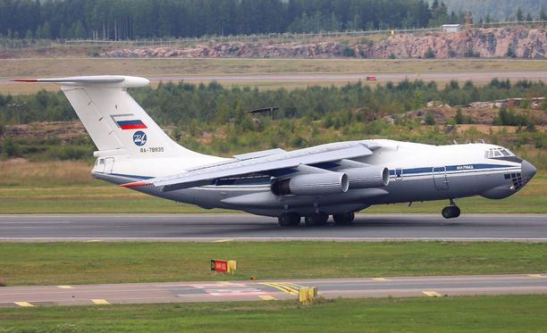 Kone saapui Helsinki-Vantaalle Moskovasta torstaina puoli kahden aikaan iltapäivällä.