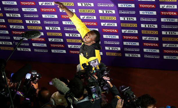 Usain Bolt on yksi maailman seuratuimmista urheilijoista.