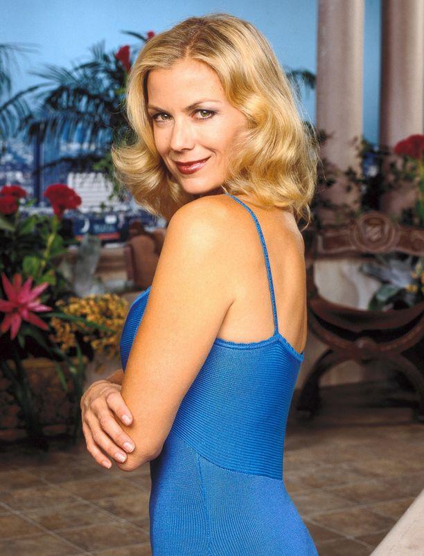 Tältä Kelly Lang näytti Brookena vuonna 2002.
