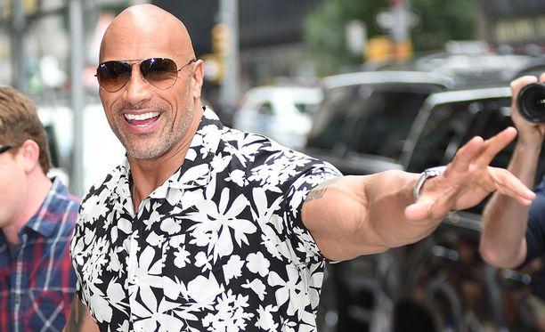 Dwayne Johnson, 46, on tunnettu yhdysvaltalaisnäyttelijä.
