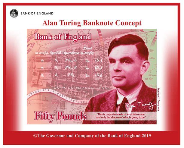 Turing on yksi kaikkien aikojen merkittävimmistä matemaatikoista.