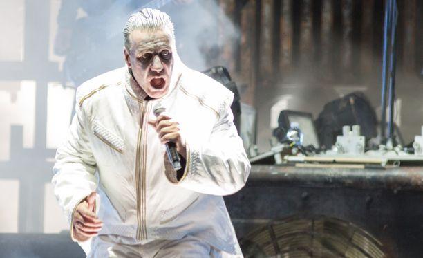 Rammstein oli Rockfestin pääesiintyjä perjantaina.