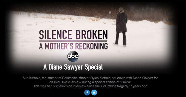 ABC News sai yksinoikeudella äidin haastattelun juuri ennen kirjan julkaisua.