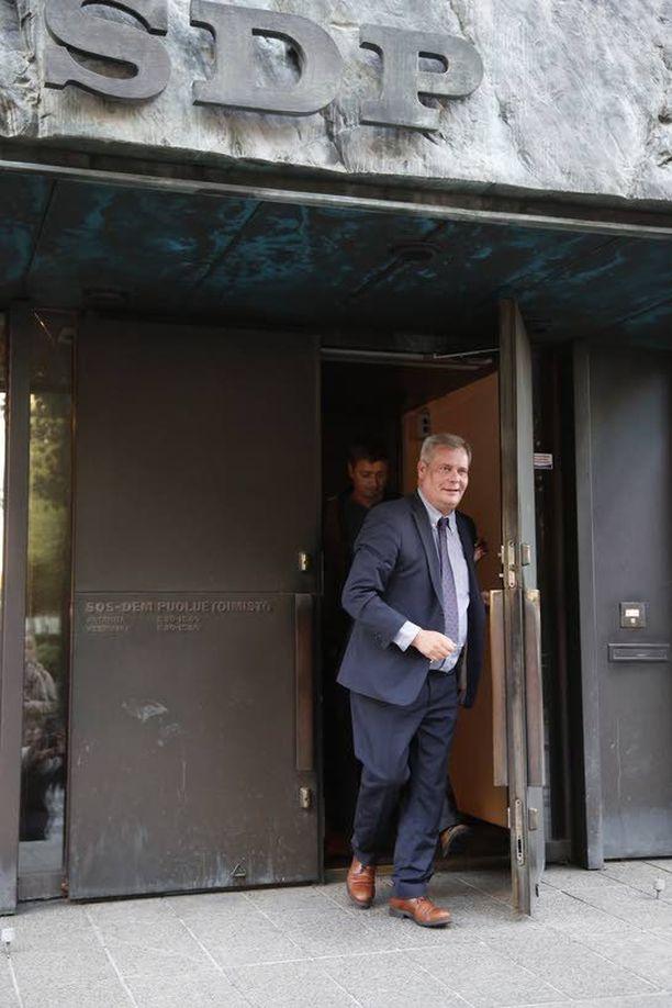 Antti Rinteen johtama SDP muuttaa pois komeasta talostaan lokakuussa.