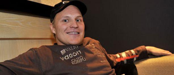 Kalle Palander haluaa mitaleja.