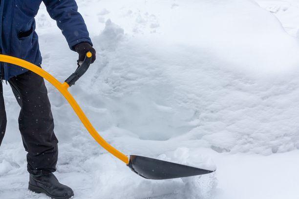Lapin lumihangen vaikutus painovoimaan on samaa suuruusluokkaa kuin pohjaveden korkeuden vaikutus.