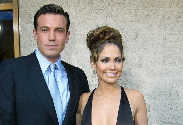 Ben Affleck ja Jennifer Lopez vuonna 2003.
