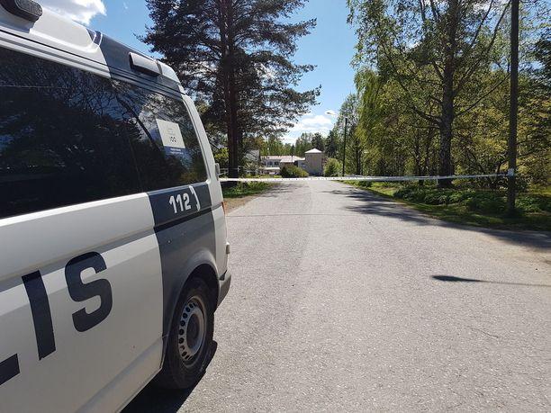 Paikalle hälytettiin poliisipartioita ympäri Itä-Suomea.