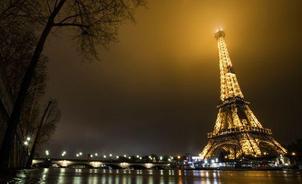 Pariisia pidetään yhtenä maailman romanttisimmista kaupungeista.