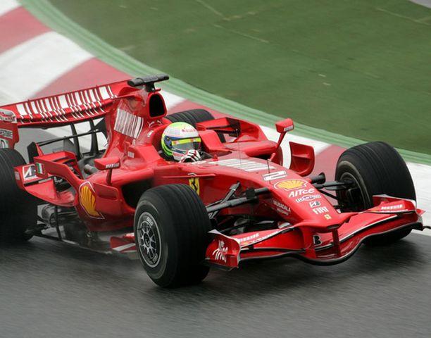 Felipe Massa kiersi 46 kierrosta.