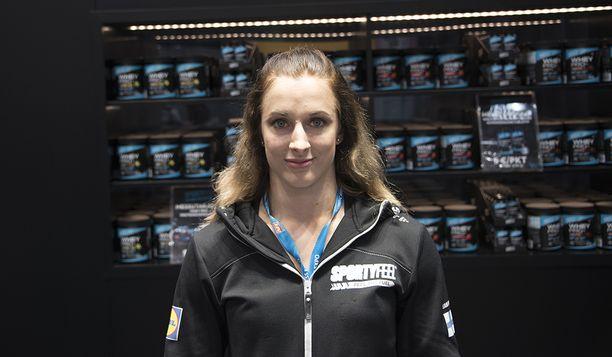 Anni Vuohijoki vieraili reilu viikko sitten Nordic Fitness Expossa Lahdessa.