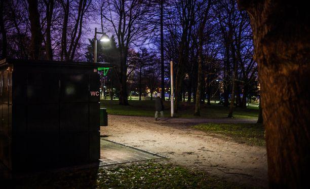 Turvapaikanhakijan epäillään raiskanneen pikkujouluista palanneen naisen Helsingissä Hesperianpuistossa marraskuussa.