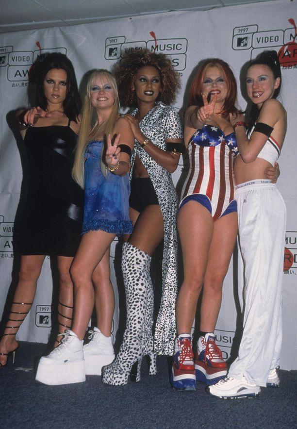 Spice Girls on niittänyt suosiota kautta aikojen.