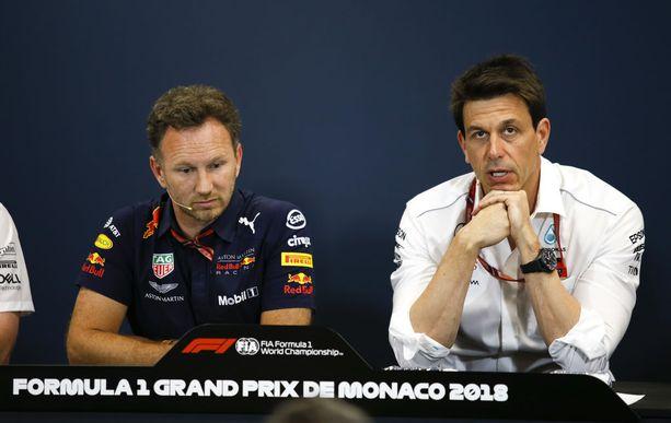 Christian Horner ja Toto Wolff luottavat Ferrari-tapauksen selvittelyssä FIAn asiantuntemukseen.