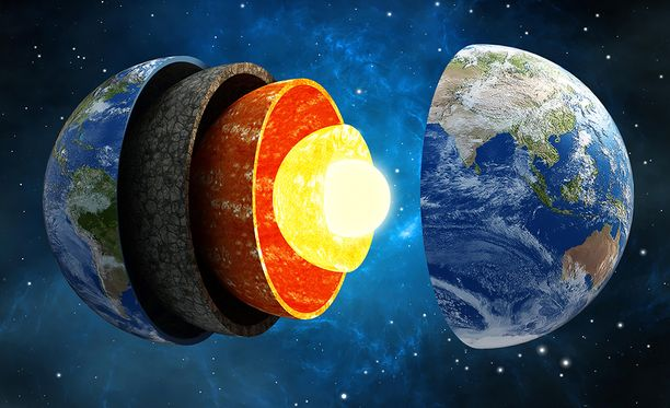 Tähän saakka tuntematon alkuaine maan ytimessä saattaa olla pii.