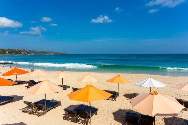 Balin Kuta Beach on noussut suosioon.