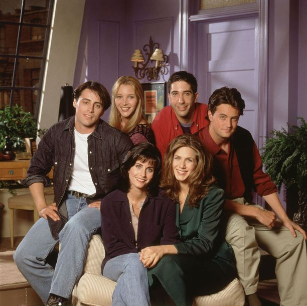 Vuonna 1994 alkanut Frendit-sarja kesti kymmenen vuotta.
