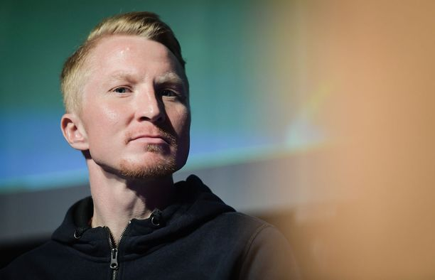 Mårten Boström tapasi mediaa sponsorinsa Lidlin All Stars -tukiohjelman julkistamistilaisuudessa.