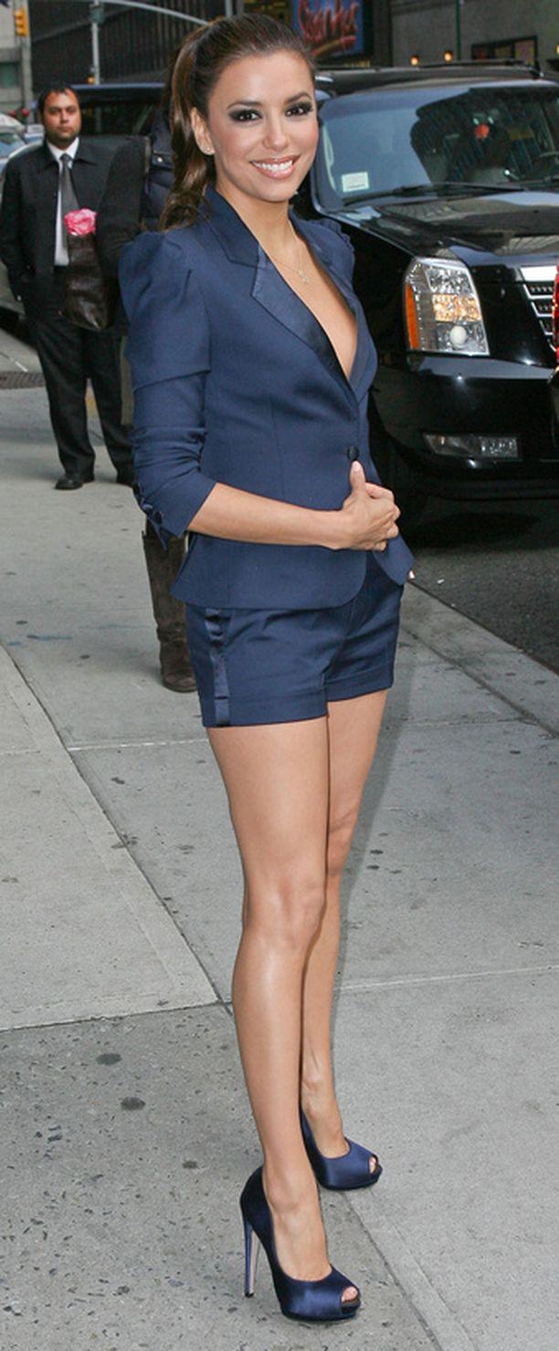 Eva Longoria kertoo olleensa hyvin laihassa kunnossa eronsa aikoihin.