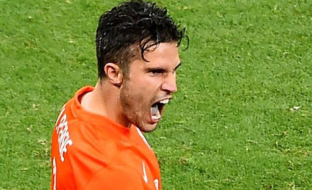 Argentiina pelkää Robin van Persien tuuletusta.