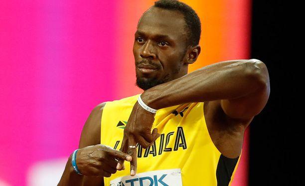 Usain Bolt on kehnosta kaudesta huolimatta 100 metrin ylivoimainen voittajasuosikki vedonvälittäjien papereissa.