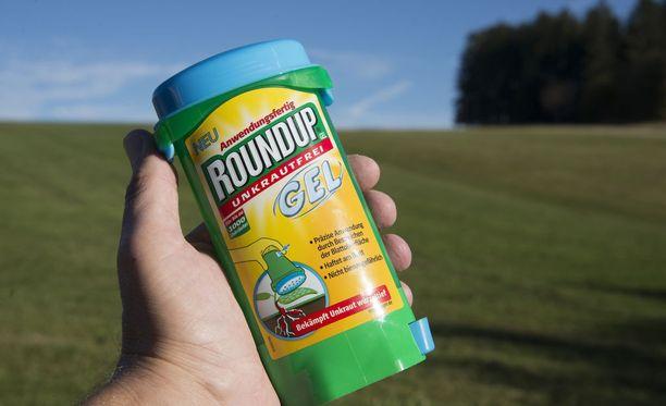 Roundupia käytetään rikkakasvien torjumiseen.