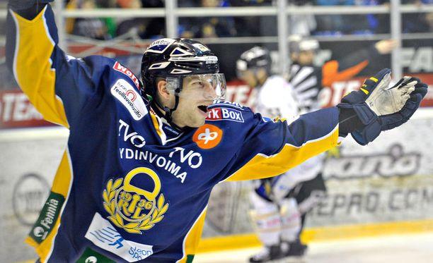 Filip Riska ampui ottelun voittomaalin.